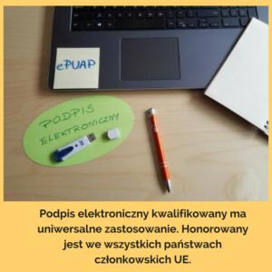 podpis elektroniczny kwalifikowany