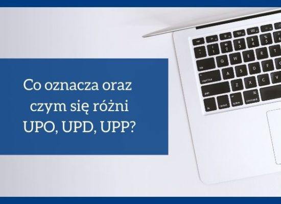 UPO, UPD UPP co oznacza