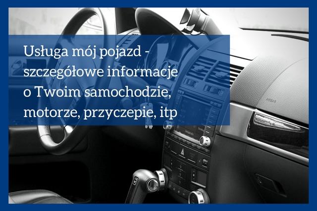 Profil Zaufany- usługa mój pojazd
